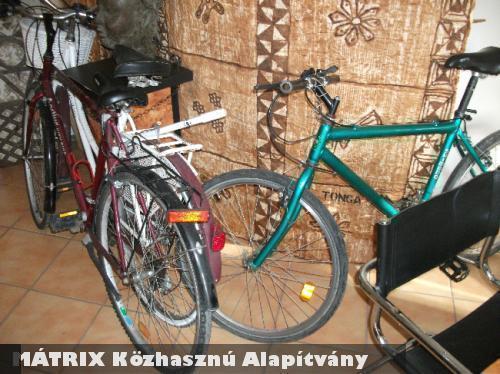 A MÁTRIX Közhasznú Alapítvány segítette az 1000 bringát Afrikának segélyprogramot