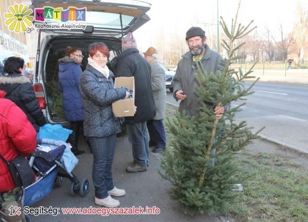 Adventi adományozás - rászorulók ezrei kaptak támogatást