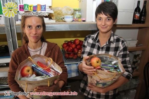 Gyermekprogram résztvevőinek vittünk ajándékcsomagokat