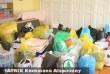 Ruha, és élelmiszerszállítmányt vitt a MÁTRIX Alapítvány a Sajó vidékére